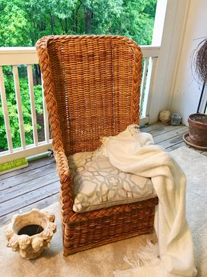 The Ultimate Sunroom/ Atrium High Back Chair for Sale in Morrisville, NC