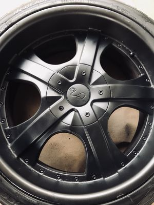 """20"""" rims U2 w/ tires for Sale in Los Angeles, CA"""