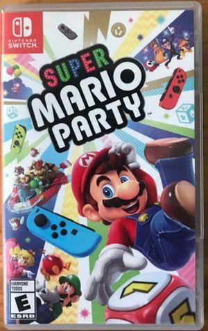 Mario party Nintendo switch game for Sale in El Cajon, CA