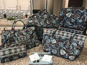 Vera Bradley 5 pc Travel Set - Java Blue RETIRED for Sale in Oviedo, FL