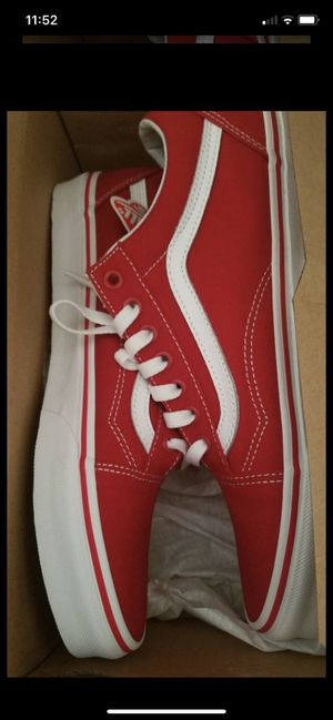 Red vans for Sale in West Palm Beach, FL