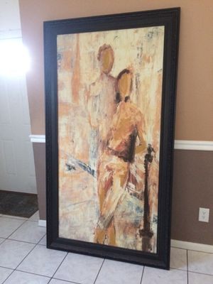 Beautiful abstract art framed for Sale in Tampa, FL