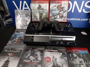 Ps3 and 8 games for Sale in Stanton, CA