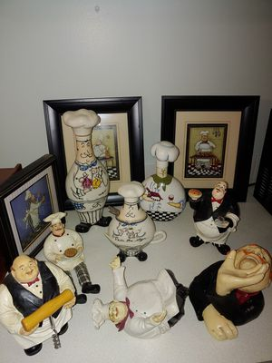 Chef Kitchen Decor for Sale in Summerfield, NC