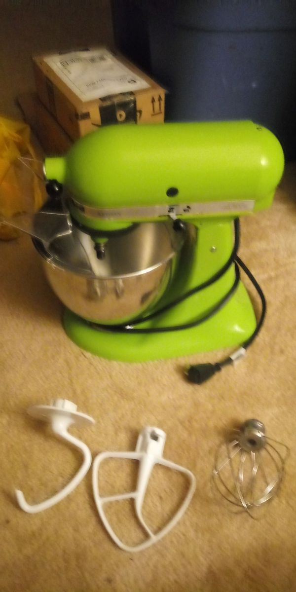 KitchenAid stand mixer Artisan series Green