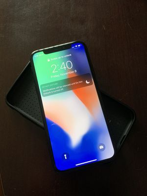 iPhone X 256 gb unlocked for Sale in Austin, TX