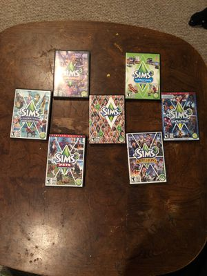 PC games The Sims 3 series for Sale in Chicago, IL