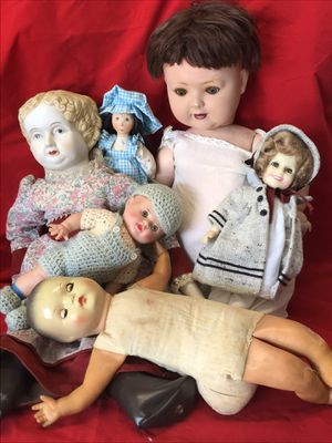 6 Antique & Vintage dolls for Sale in Beaumont, CA
