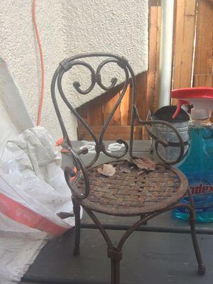Mini metal chair for Sale in Dallas, TX