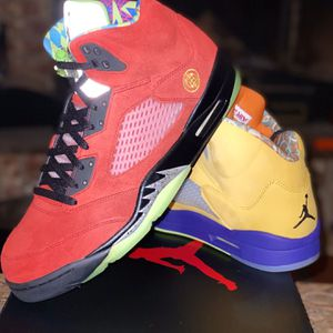 "Air Jordan 5 ""What The"" for Sale in Woodburn, OR"