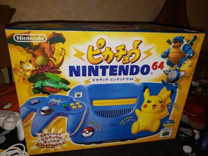 Nintendo 64 Pikachu Special Edition N64 - Super Mint for Sale in Bakersfield, CA