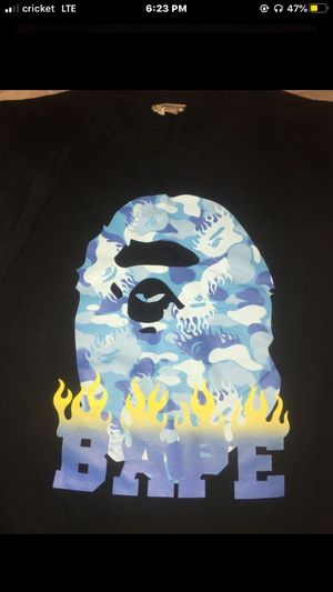 Bape flames tee for Sale in Fresno, CA