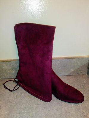 Red colored thigh high boots size 9.5M for Sale in Atlanta, GA