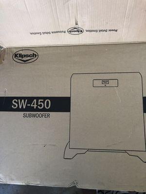 Klipsch SW-450 SubWoofer for Sale in Sugar Hill, GA