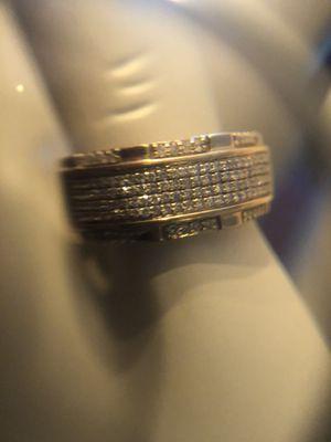 10 karat gold men's diamond ring. 1/2ct for Sale in Manheim, PA