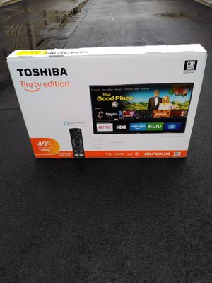 "*49"" In. Toshiba Smart 🔥tv W/Remote* -Firm Price- for Sale in Stockbridge, GA"