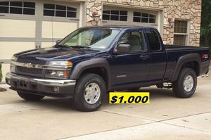 $1.OOO I'm selling urgently 2004 Chevrolet Colorado Truck V6. for Sale in Seattle, WA