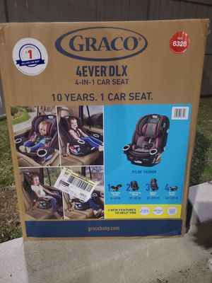 Graco 4Ever DLX 4-in-1 Carseat for Sale in Washington, DC