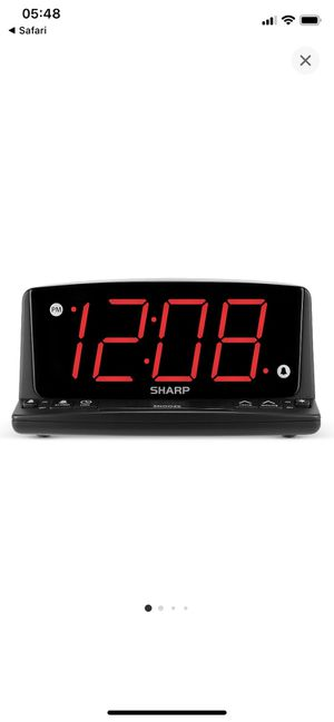 LED night light alarm clock, Sharp for Sale in La Puente, CA