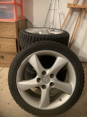 Cooper C55 Ultra Touring All Season Tires w Wheels Size 215-50-R17 for Sale in Wenatchee, WA
