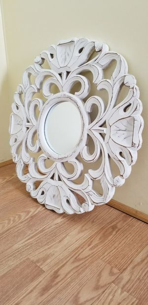 """Small distressed wall mirror. Made in India. Measures approx: 23.5"""" wide x 23.5"""" tall. for Sale in Phoenix, AZ"""