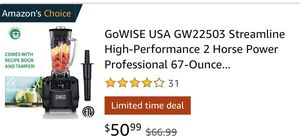 GoWISE 2 Horse Power 67 oz Pitcher 1450 watts like a vitamix for Sale in Moorpark, CA