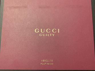 Brand New! Gucci Guilty Perfume Gift Set for Sale in Ravensdale,  WA