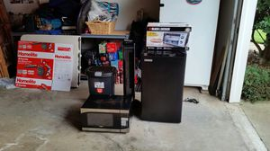 Compact Refrigerator and Other Items In Package for Sale in Powder Springs, GA