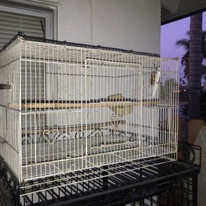 White Bird Or Parakeet Cage for Sale in Riverside, CA