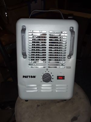 BRAND NEW PATTON ELECTRIC HEATER...BRAND NEW!!! for Sale in Indianapolis, IN