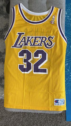 Magic Johnson - LA Lakers Champion Jersey (Large) for Sale in Garden Grove, CA