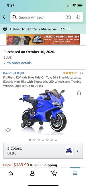 Electric Kids Bike for Sale in Miramar, FL
