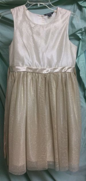 Girl's Halloween gold party dress XL for Sale in Glendale, AZ