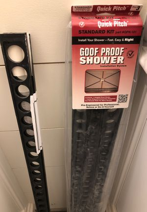 Quick Pitch Shower Kit plus 2 Extension Sticks for Sale in Fort Worth, TX