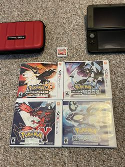 Nintendo 3DS, Carrying Case And 5 Pokémon Games for Sale in Seattle,  WA
