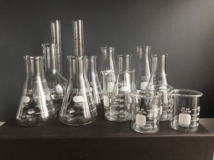 Science beakers for Sale in New York, NY