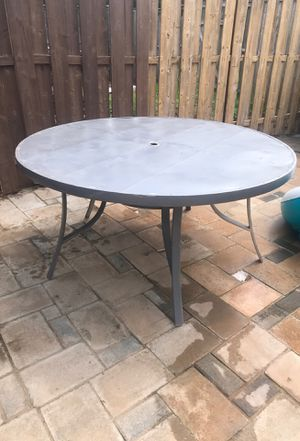 metal table for free for Sale in Manassas, VA