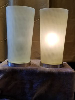 Unique Frosted Green Table or Floor Lamps for Sale in Chandler, AZ