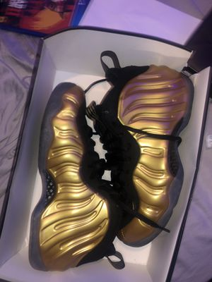gold foamposites metallic gold for Sale in Crofton, MD