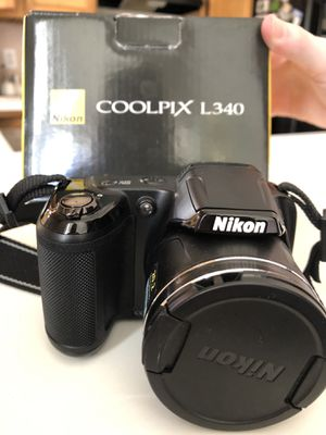 Nikon L340 20 megapixel digital camera Used once. Great camera. Comes with strap. 4 AA batteries not included for Sale in Kernersville, NC