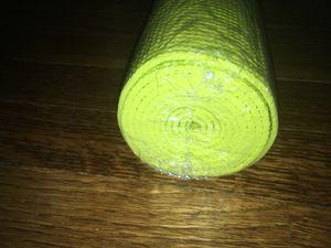 Brand new bright yellow yoga mat for Sale in Alexandria, VA