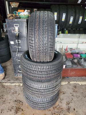 295/50/15 new tires for $600 with balance and installation we also finance {contact info removed} Dorian 7637 airline dr houston TX 77037 for Sale in Houston, TX