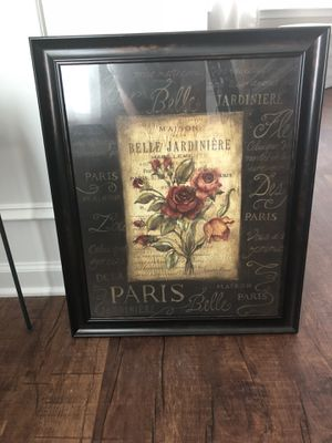 Rose picture frame for Sale in Chapin, SC