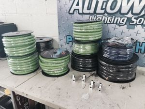 1/0 SKY HIGH OFC car audio wire for Sale in Chicago, IL