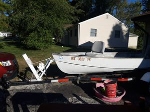 John boat and trailer for Sale in Greenwood, IN