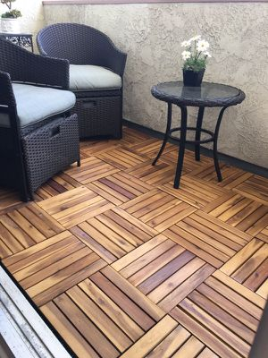 Balcony & patio wooden decking tile for Sale in Los Angeles, CA