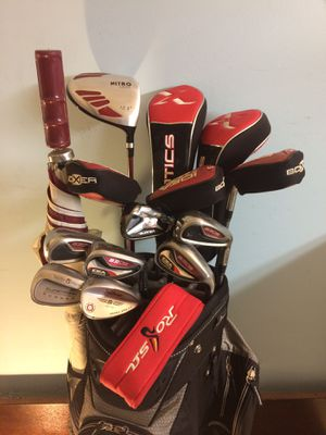Golf Club Set- Adams / Taylormade / Titleist for Sale in Tustin, CA