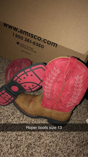 Roper girls boots for Sale in Smithton, PA