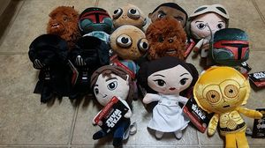 Star wars galactic plushies for Sale in West Sacramento, CA