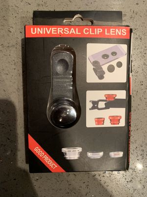 Brand new never used Lens for smartphone ( u must come pick it up) for Sale in Kent, WA